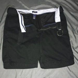 💝SOLD‼️ Men's black shorts with belt